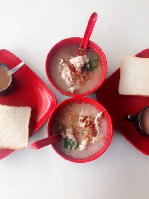 อาหารเช้าทางรีสอร์ทชลิตากู๊ดวิว